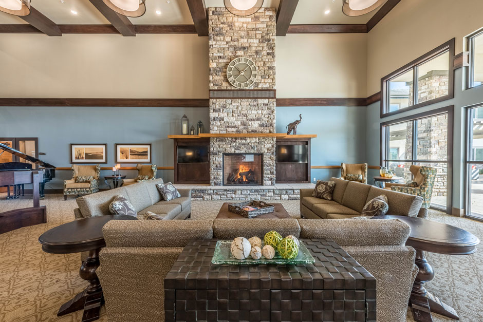 Great Room Interior Fireplace